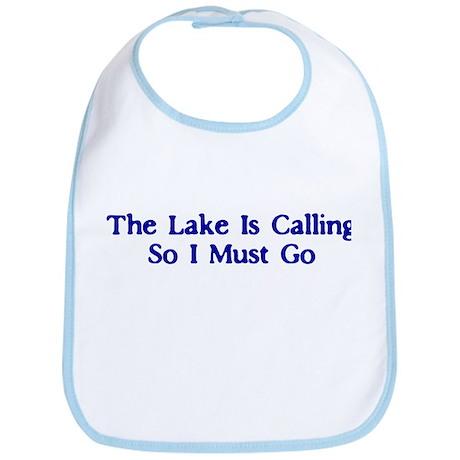 The Lake Is Calling So I Must Go Bib