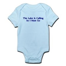 The Lake Is Calling So I Must Go Infant Bodysuit