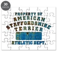 Property of American Staffordshire Terrier Puzzle