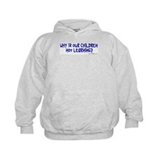 "Kids' ""Why is our children not learning?"" Hoodie"