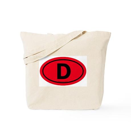 """""""D"""" Euros Tote Bag"""