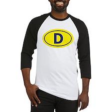 """""""D"""" Euros Baseball Jersey"""