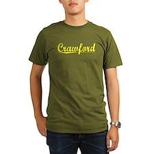 Crawford, Yellow T-Shirt
