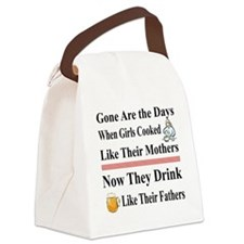 CookLikeMotherFather Canvas Lunch Bag