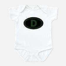 """""""D"""" Euros Infant Creeper"""