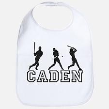 Baseball Caden Personalized Bib