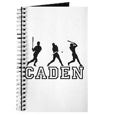 Baseball Caden Personalized Journal