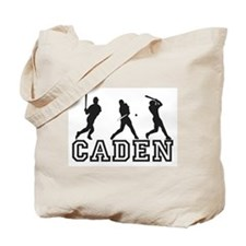 Baseball Caden Personalized Tote Bag
