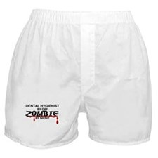 Dental Hygienist Zombie Boxer Shorts