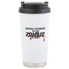 Dental Hygienist Zombie Travel Mug