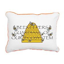 Beekeepers Rectangular Canvas Pillow