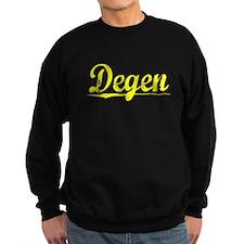 Degen, Yellow Sweatshirt