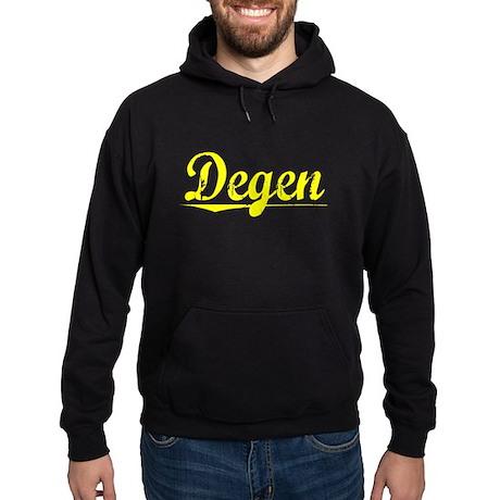 Degen, Yellow Hoodie (dark)