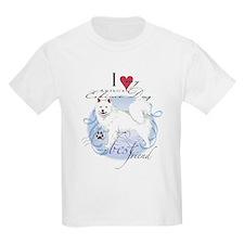 American Eskimo Kids T-Shirt