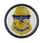 CBP badge Large Wall Clock
