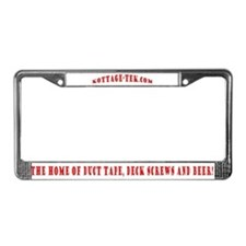 Cute Muskoka License Plate Frame