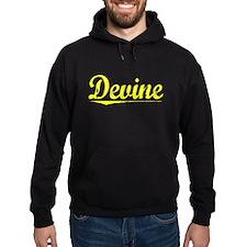 Devine, Yellow Hoodie