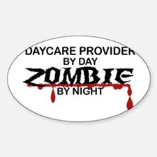 Daycare Provider Zombie Decal