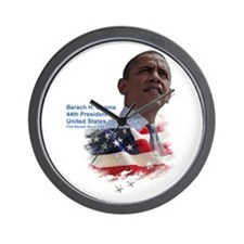 Obama re-elected: Wall Clock