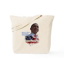 Obama re-elected: Tote Bag