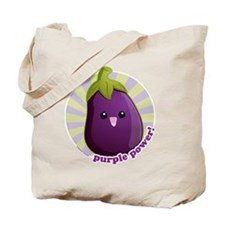 Purple Power! Tote Bag