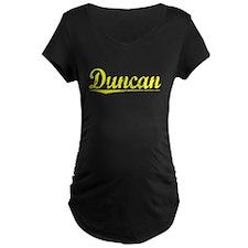 Duncan, Yellow T-Shirt