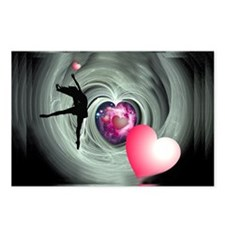 I Love to Dance Postcards (Package of 8)