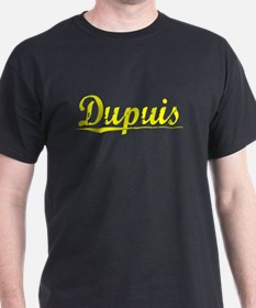 Dupuis, Yellow T-Shirt
