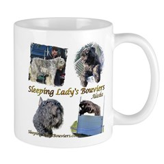 Sleeping Lady's Bouviers Mug