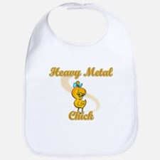 Heavy Metal Chick #2 Bib