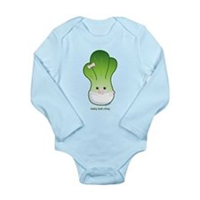 Baby Bok Choy Long Sleeve Infant Bodysuit
