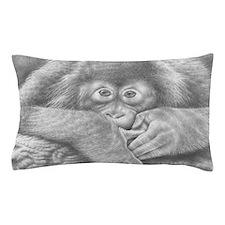 Baby Orangutan Pillow Case