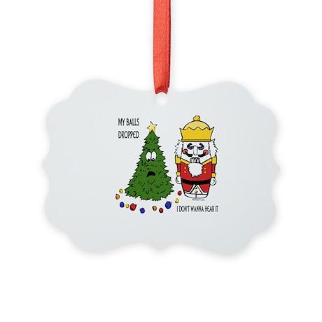 BallsDropped Picture Ornament