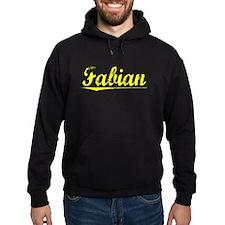 Fabian, Yellow Hoodie