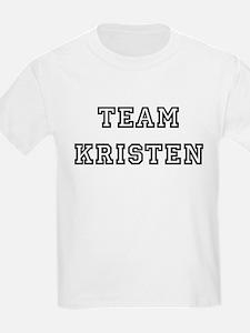 TEAM KRISTEN Kids T-Shirt