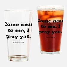 Genesis 45:4 Drinking Glass