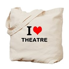 I LOVE THEATRE Tote Bag