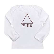 Alchemical symbol for fire - One of the four magic