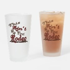 First Rodeo Drinking Glass