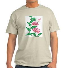 Lotus Ash Grey T-Shirt