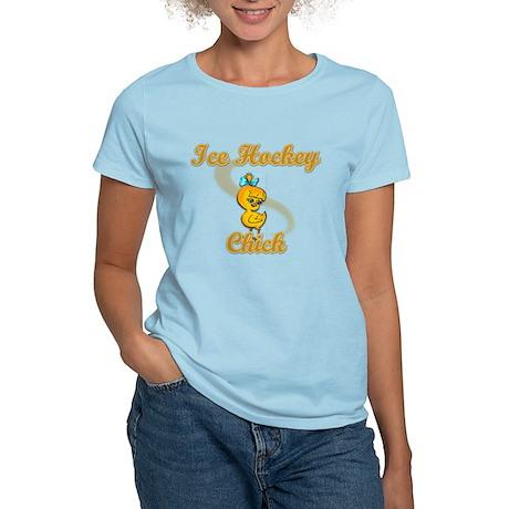 Ice Hockey Chick #2 Women's Light T-Shirt