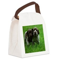 Cute German shorthaired pointer Canvas Lunch Bag