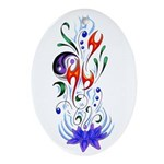 Beautiful Balance Oval Ornament