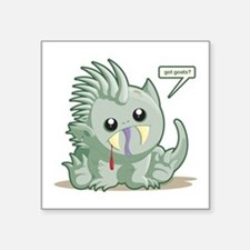 "Chupacabra Square Sticker 3"" x 3"""