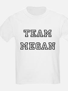 TEAM MEGAN Kids T-Shirt