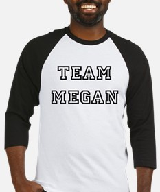 TEAM MEGAN Baseball Jersey