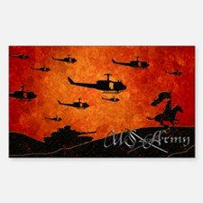 Harvest Moons US Army Sticker (Rectangle)