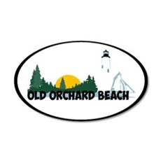 Old Orchard Beach ME - Beach Design. Wall Decal