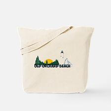 Old Orchard Beach ME - Beach Design. Tote Bag