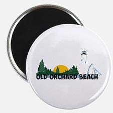Old Orchard Beach ME - Beach Design. Magnet